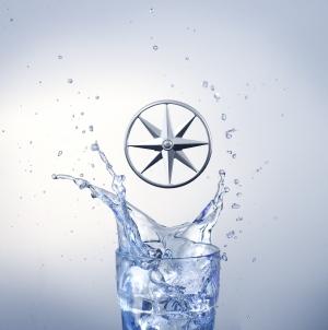 "Амулет ""Звезда Союза"" серебряный - для зарядки воды / Charm ""Union Star"", silver,(to purify water) - JEWELLERY"